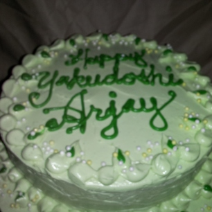 Whipped Cream Frosting Birthday Cake Hawaii