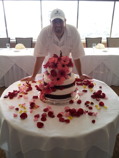 Plaza Club Wedding Cake