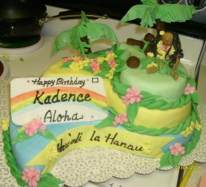 Hauoli La Hanau Birthday Cake