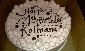 kaimana's Cake