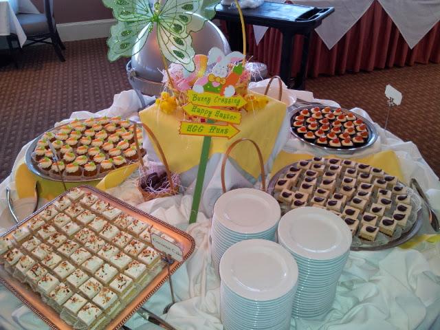 My Easter Dessert Buffet