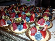 Fresh Fruit and Creme Patisserie Tartlet