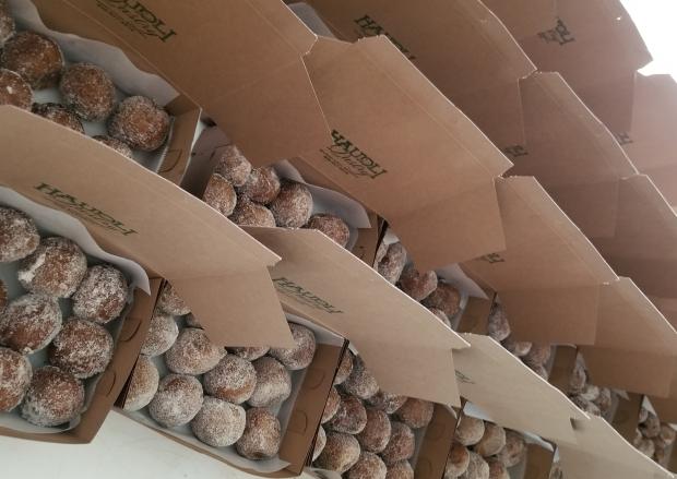 Mochisadas individually boxed by the dozen